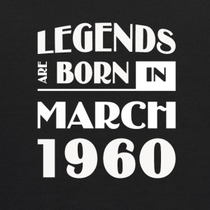 Legends are born in March 1960 - Kids' Hoodie