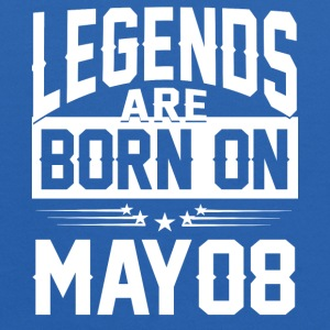 Legends are born on May 08 - Kids' Hoodie