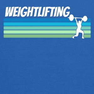 Retro Weightlifting - Kids' Hoodie