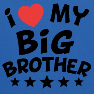 I Heart My Big Brother - Kids' Hoodie