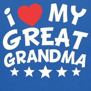I Heart My Great Grandma - Kids' Hoodie