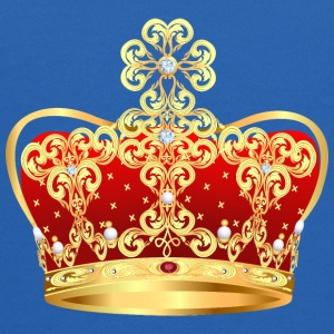 Vip Monarch golden royal crown King gold art image - Kids' Hoodie
