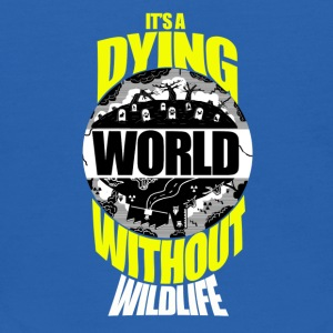 It's a Dying World Without Wildlife - Kids' Hoodie