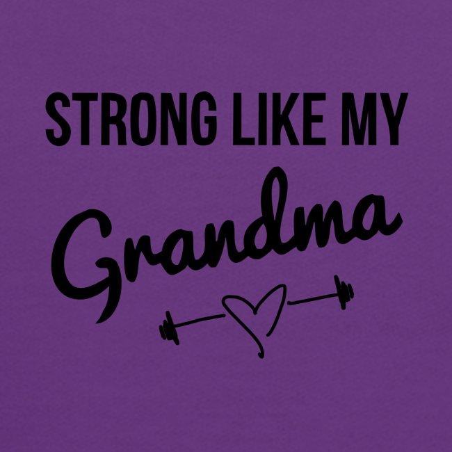 strong like my grandma (black)