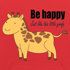 Be happy just like this little giraffe - Kids' Hoodie