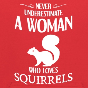 Never Underestimate A Woman who loves squirrels - Kids' Hoodie