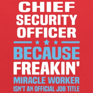 Chief Security Officer T Shirt - Kids' Hoodie