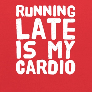 Running late is my cardio - Kids' Hoodie