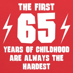 The First 65 Years Of Childhood - Kids' Hoodie