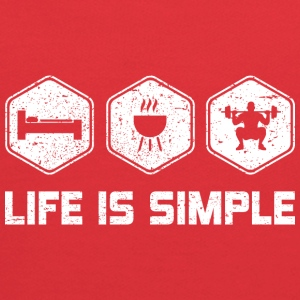 LIFE IS SIMPLE - SQUAD - Kids' Hoodie