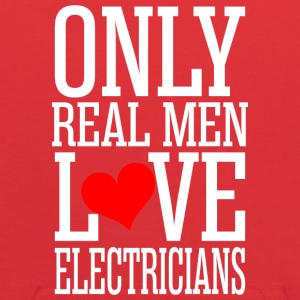 Only Real Men Love Electricians - Kids' Hoodie