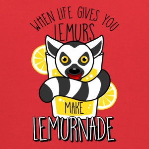 When Life Gives You Lemurs Make Lemurnade - Kids' Hoodie