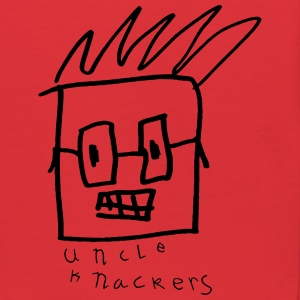 Uncle Knackers Self Portrait. - Kids' Hoodie