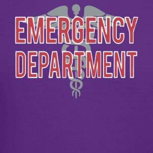 Emergency Department T Shirt - Crewneck Sweatshirt