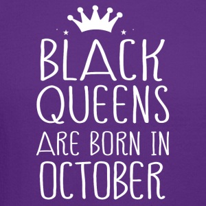 Black queens are born in October - Crewneck Sweatshirt