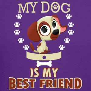 MY DOG IS MY BEST FRIEND - Crewneck Sweatshirt