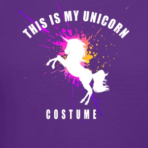 unicorn costume pink romantic girl splash humor lo - Crewneck Sweatshirt