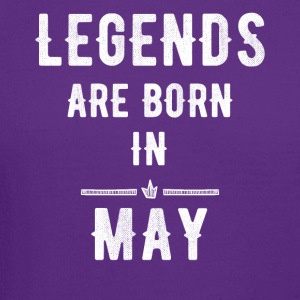 Legends are born in May - Crewneck Sweatshirt
