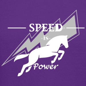 Speed is horse power - Crewneck Sweatshirt