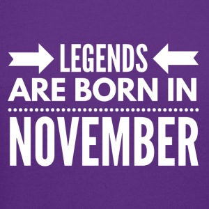 Legends Born November - Crewneck Sweatshirt