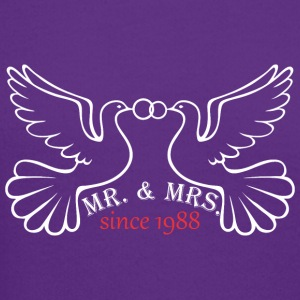 Mr And Mrs Since 1988 Married Marriage Engagement - Crewneck Sweatshirt