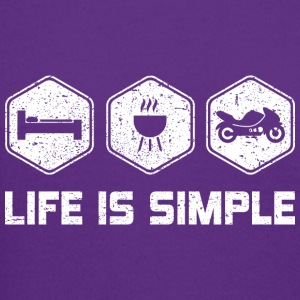 LIFE IS SIMPLE - MOTORBIKE - Crewneck Sweatshirt