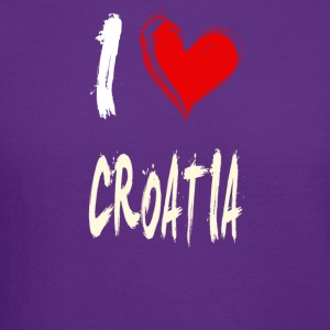 I love CROATIA - Crewneck Sweatshirt