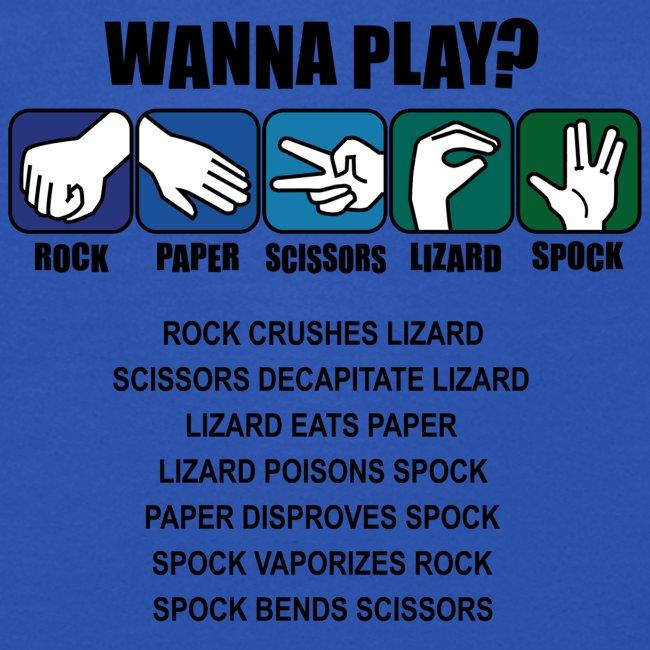 rock paper scissors lizard spock shirt