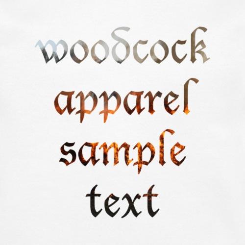 woodcock apparel sample text bright - Crewneck Sweatshirt
