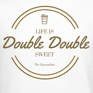 Life is Double Double Flag - Crewneck Sweatshirt