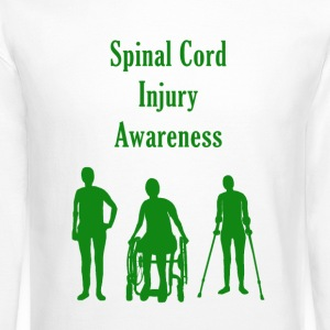 Spinal Cord Injury Awareness - Green - Crewneck Sweatshirt