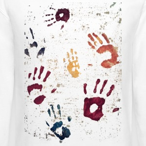 Hands paint - Crewneck Sweatshirt