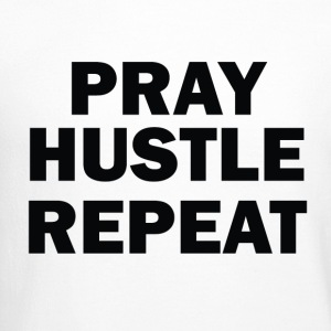 PRAY HUSTLE LOVE - Crewneck Sweatshirt