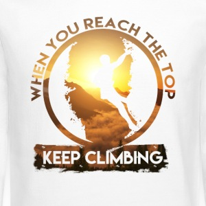 Keep Climbing - Crewneck Sweatshirt