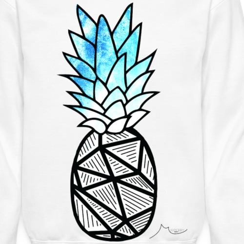 Blue Geometry PineApple | Collector ♛ - Crewneck Sweatshirt