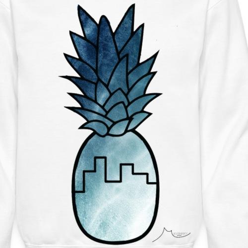 Blue Building PineApple | Collector ♛ - Crewneck Sweatshirt