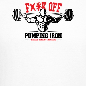 Pumping Iron Muscle Making Machine - Crewneck Sweatshirt