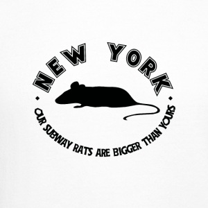 New York Our Subway Rats Are Bigger Than Yours - Crewneck Sweatshirt