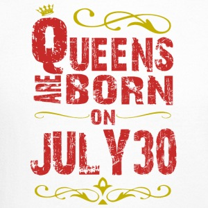 Queens are born on July 30 - Crewneck Sweatshirt
