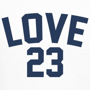 Love - Jersey Design (Navy Blue Letters) - Crewneck Sweatshirt