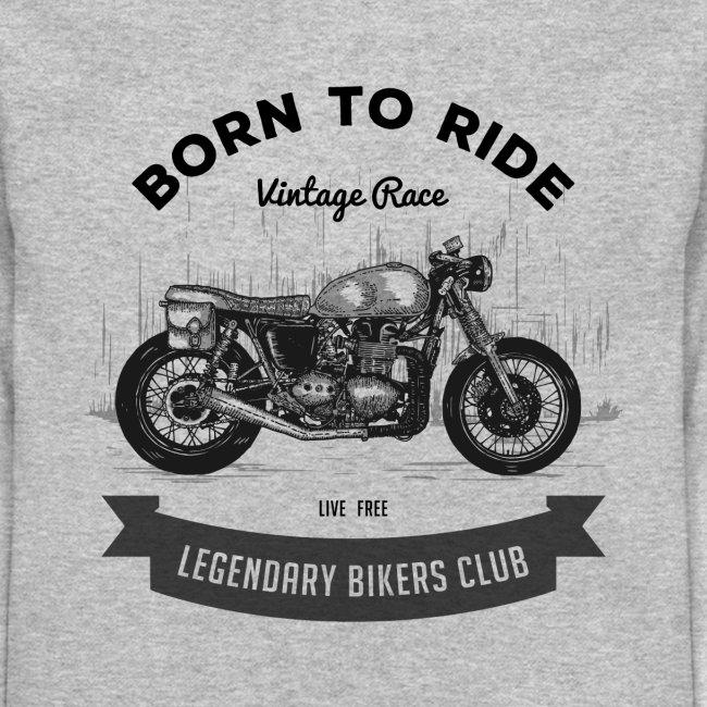Born to ride Vintage Race T-shirt