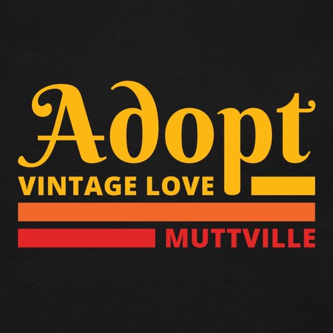 Adopt Vintage Love retro colors front