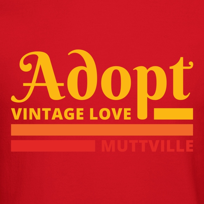 Adopt Vintage Love retro colors front
