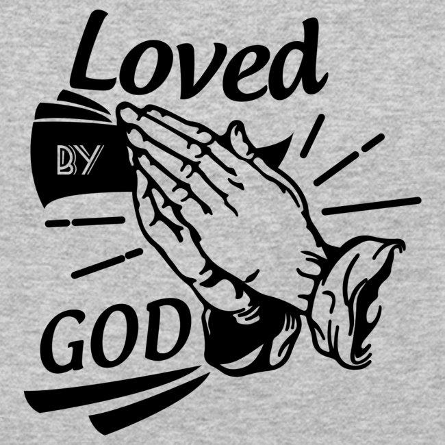 Loved By God (Black Letters)
