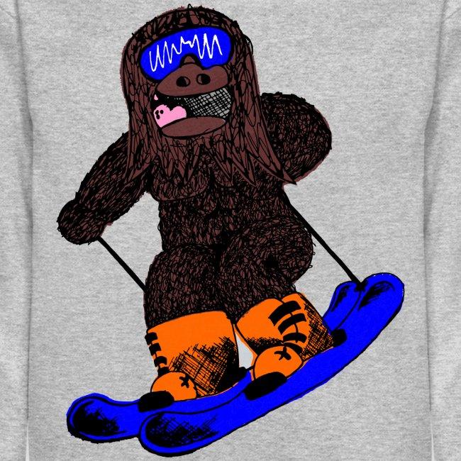 Skiing Sasquatch