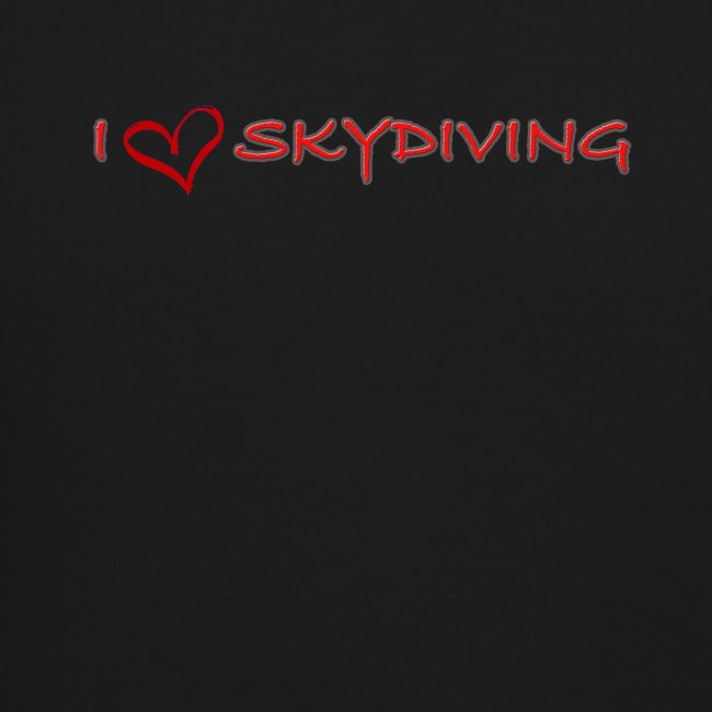 I love skydiving T-shirt/BookSkydive