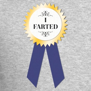 I farted award - Crewneck Sweatshirt