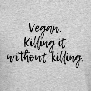 Vegan killing it - Crewneck Sweatshirt
