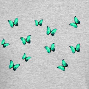 Green Butterflies - Crewneck Sweatshirt