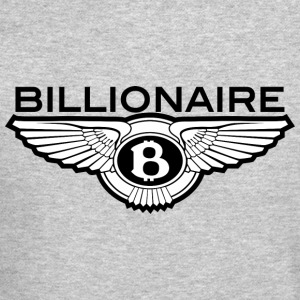 Billionaire - B Design (Black) - Crewneck Sweatshirt